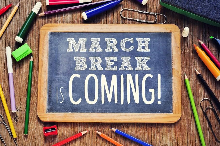 20180307 march break is coming