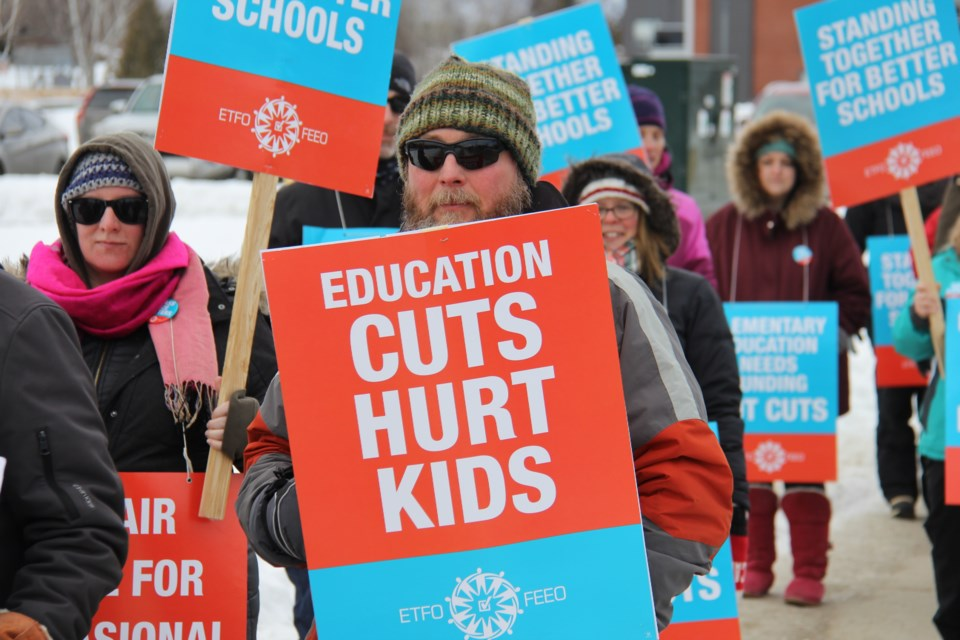 20200206 Elementary Teachers' Federation of Ontario ETFO north bay 2 turl