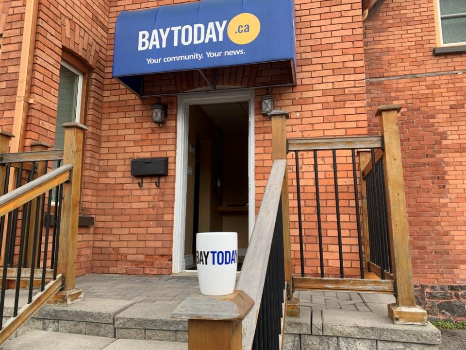 20210909 Baytoday office with mug turl