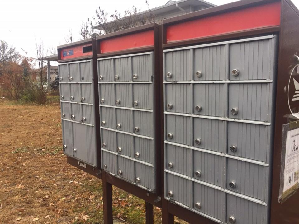 20181107 community mail box  Canada Post turl