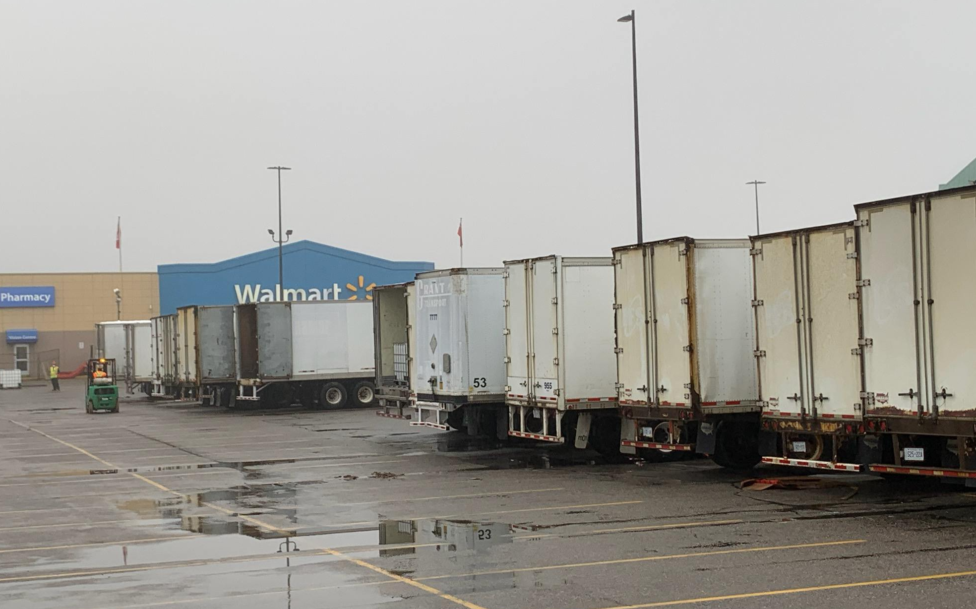 Some Walmart Services Continue To Operate Despite Fire Related Damage Baytoday Ca