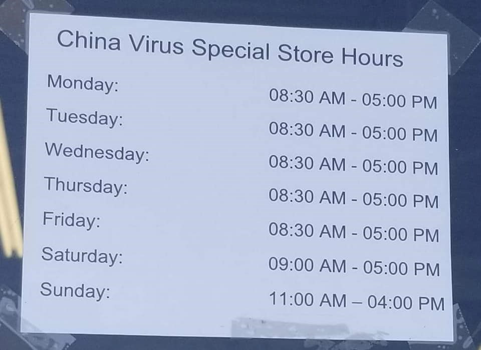 www.sudbury.com: 'I'm not a racist,' says North Bay business owner who posted sign with 'China Virus' store hours
