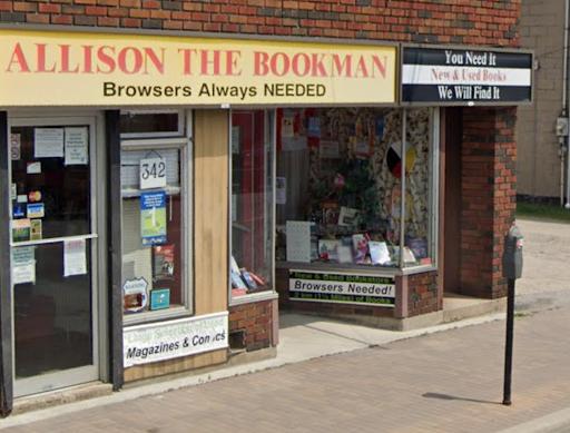 Allison the Bookman (Google Maps)