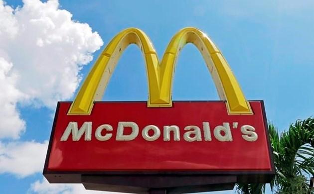 McDonalds restaurant sign 2017