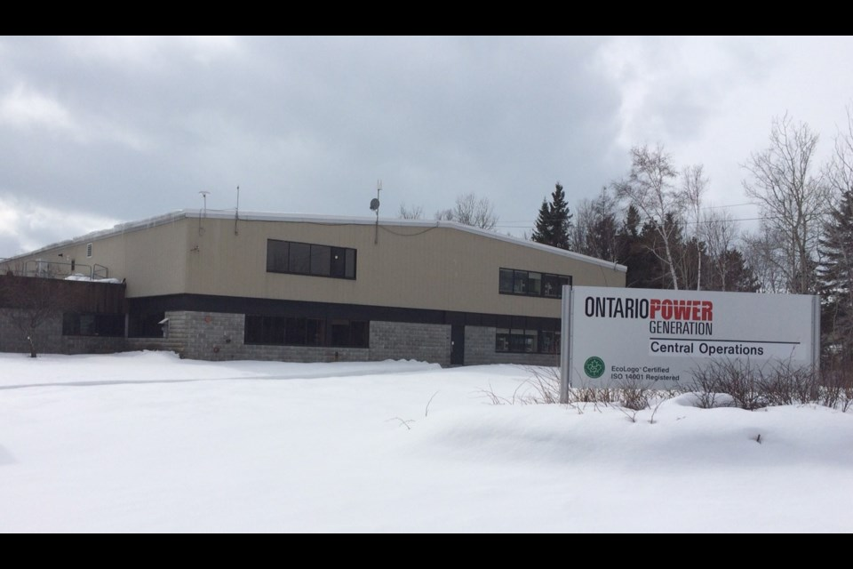 The OPG office on Eloy's Road in North Bay. Photo by Jeff Turl.