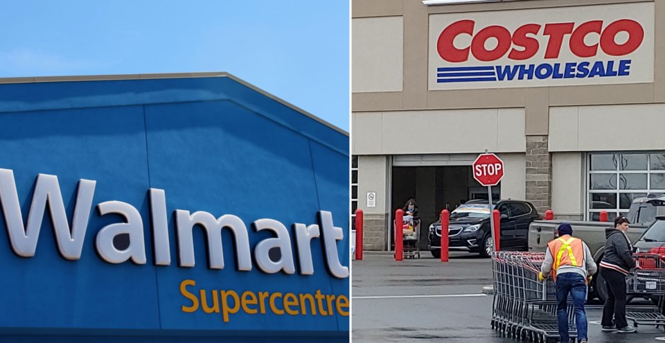 Walmart Costco