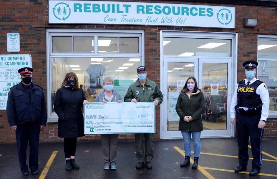 2020-11-26 Rebuilt Resources donation