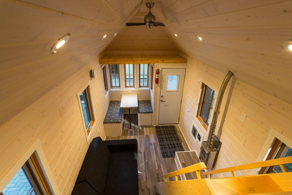 2019 tiny house 3 interior ready