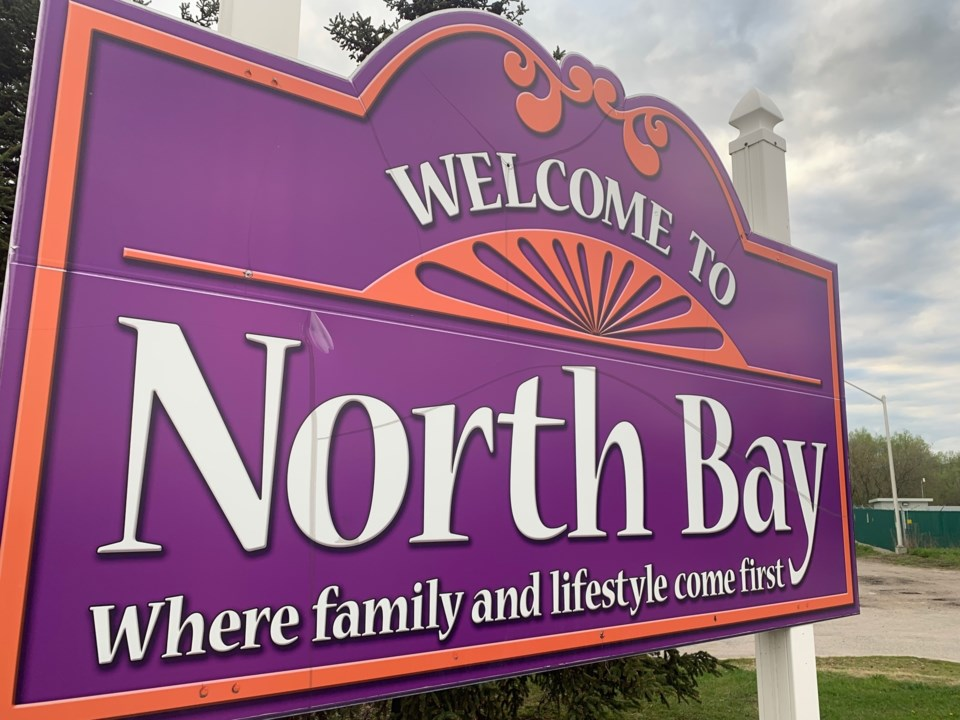 20191014  welcome to north bay sign cu turl