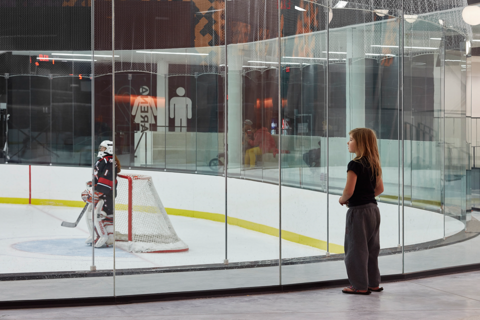 2021 07 28 Community and Recreation Centre (CNB) Goalie Glass