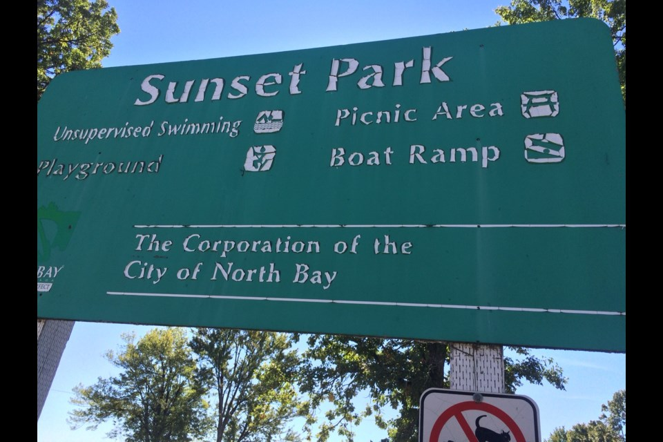Police are investigating after a body washed near a Sunset Park beach.
