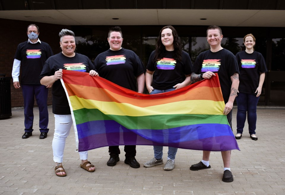 2020 06 29 Pride flag raising 2020