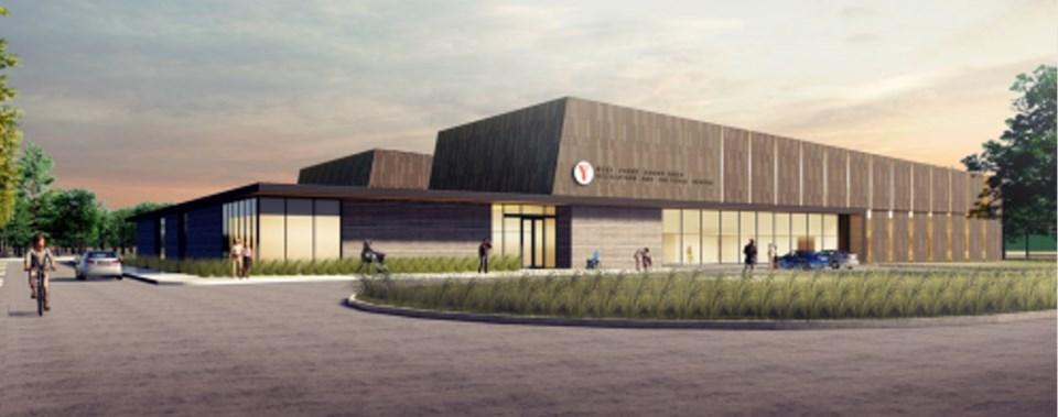 2010618 parry sound recreation centre proposed