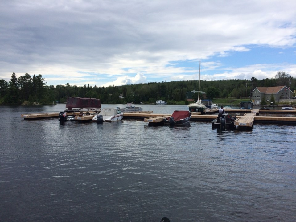lake temagami docks turl 2017