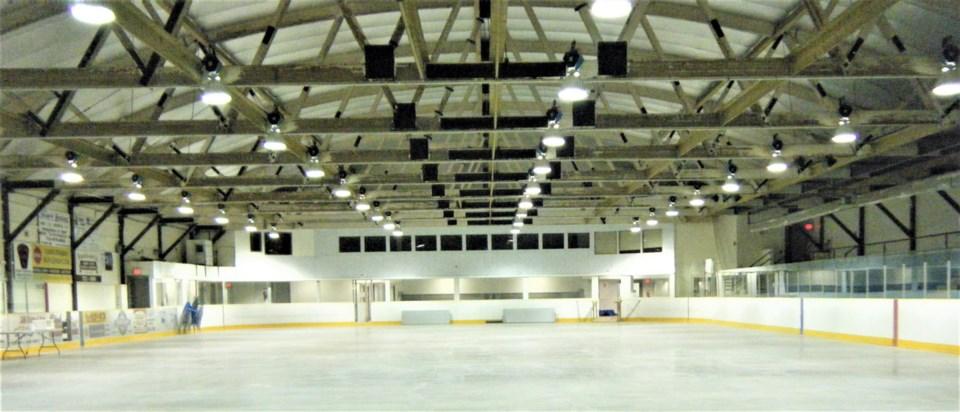 east ferris arena roof