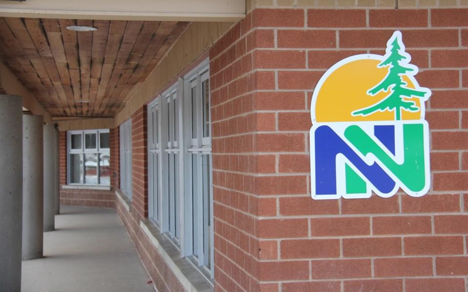 20200202 near north school board logo on wall turl