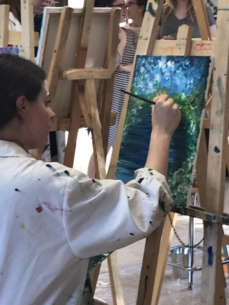 20200214 Maeve painting