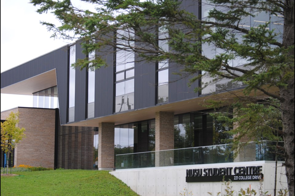 The new NUSU Student Centre at College Drive and Monastery Road.