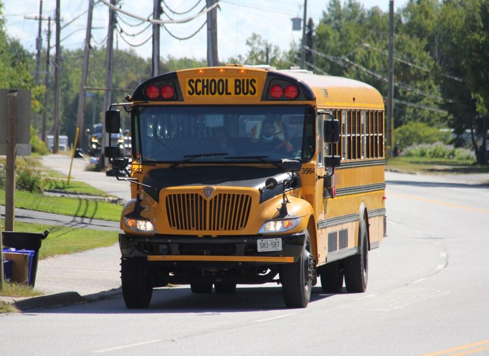 school bus lakeshore turl