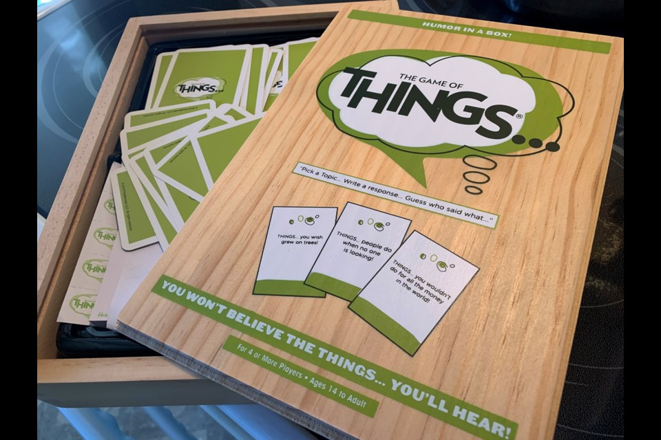 The game of THINGS...has sold over four million copies. Jeff Turl/BayToday.