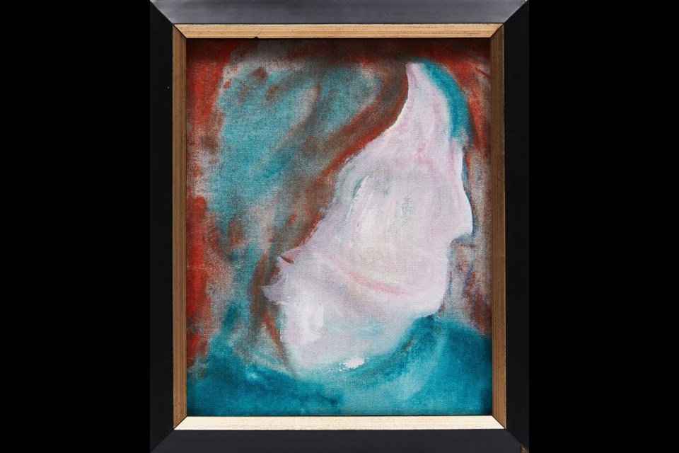 DHead XLVI, a painting by musician David Bowie was bought at a secondhand shop in South River.