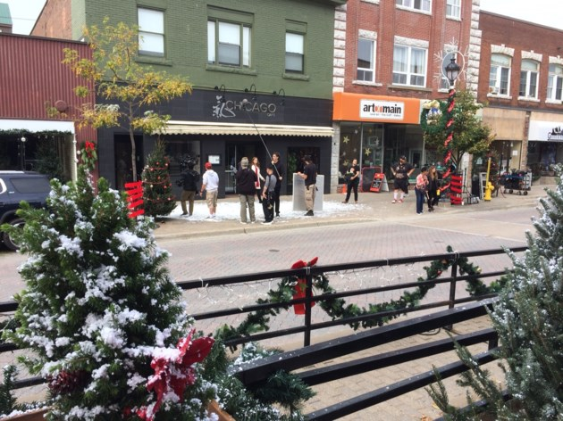Christmas In Angel Falls.Angel Falls Movie Shot In North Bay Ready For Showing