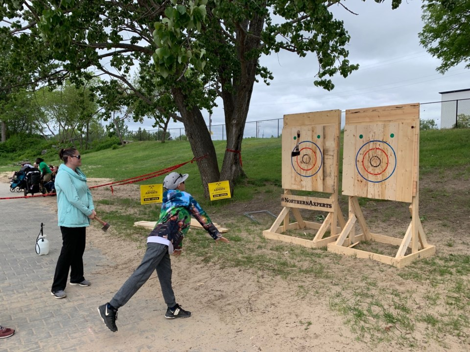 2019 bay days axe throwing turl