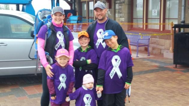 Brain tumour walk sc 2016