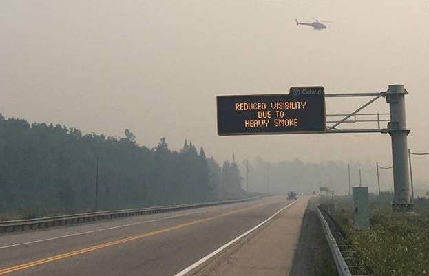 20180727 forest fire smoke warning