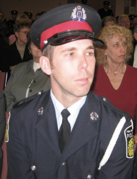 Ryan Berrigan, a constable with the Peel Region Police Service, says his father George inspired him to go into policing.