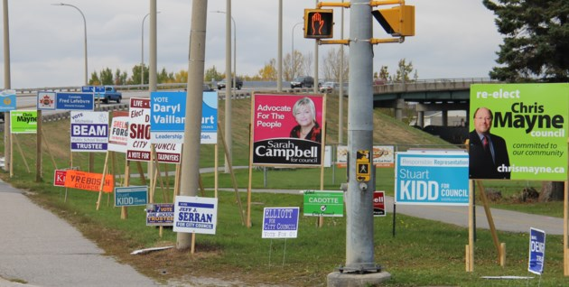 election signs overpass turl 2016