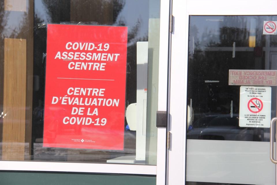 20200323 covid 19 assessment centre north bay turl