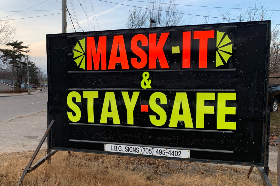 20201119 covid mask it and stay safe sign 2 turl stock(1)