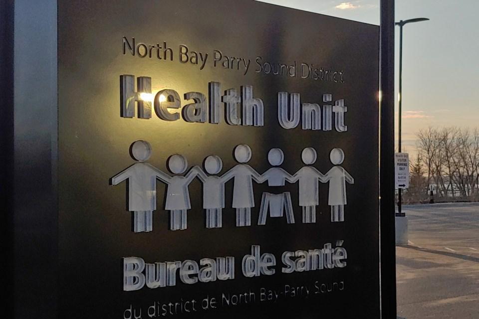 2021 04 07 North Bay Parry Sound District Health Unit (Campaigne) 2