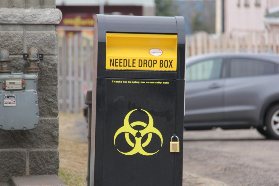 20210513 needle drop box bin sharps turl