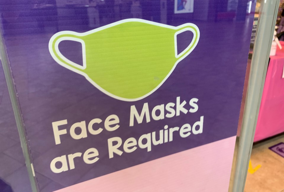 20210722 covid face masks are required turl