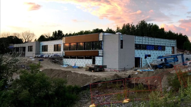 nipissing serenity hospice construction