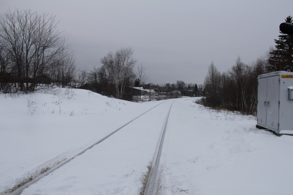 USED 20180110 4 Train tracks. Photo by Brenda Turl for BayToday.