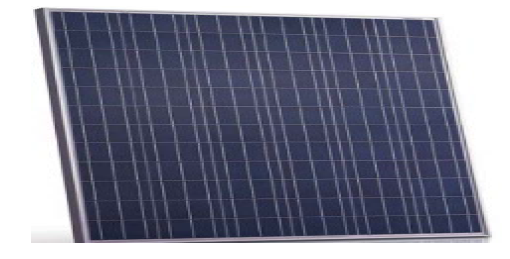 A large number of solar panels have been stolen