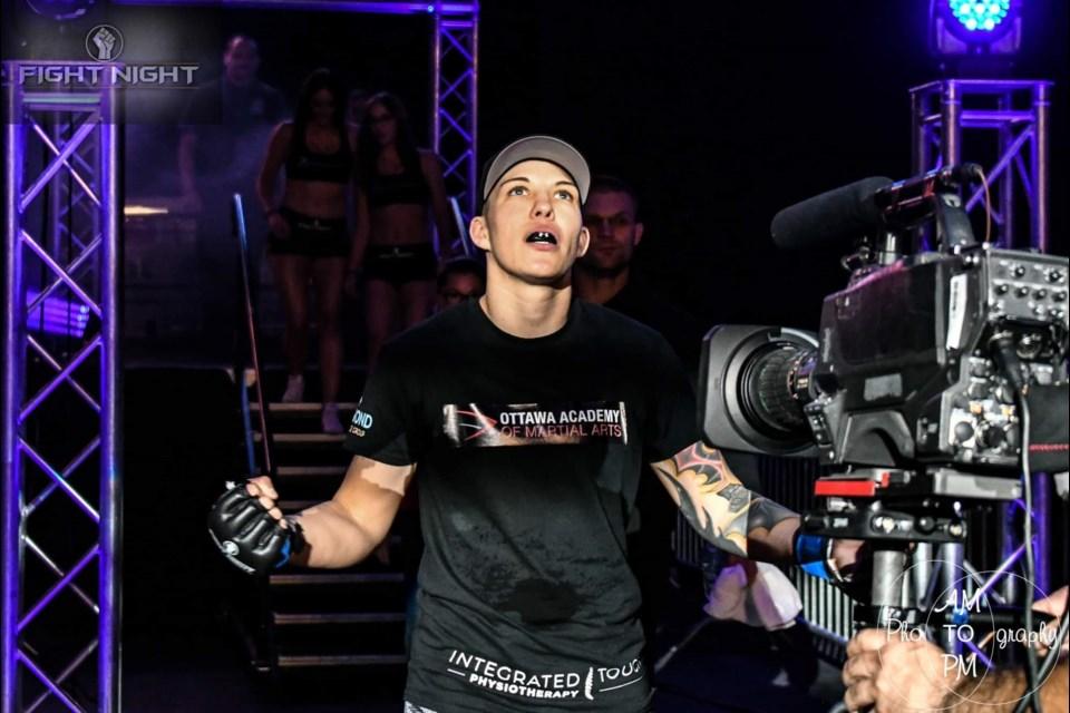 MMA pro Jo Maisonneuve. Photo submitted.