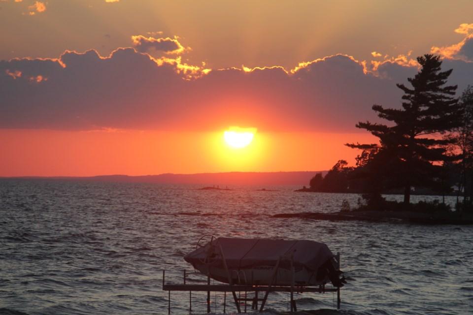 20181003 lake nipissing june sunset turl IMG_1798