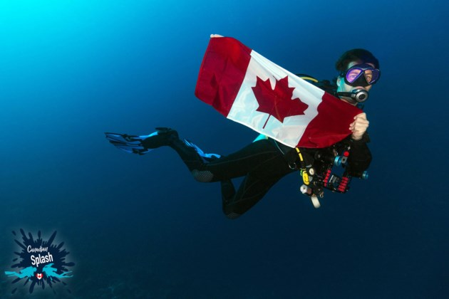 Joey-and-Canadian-Flag-for-Bay-Today