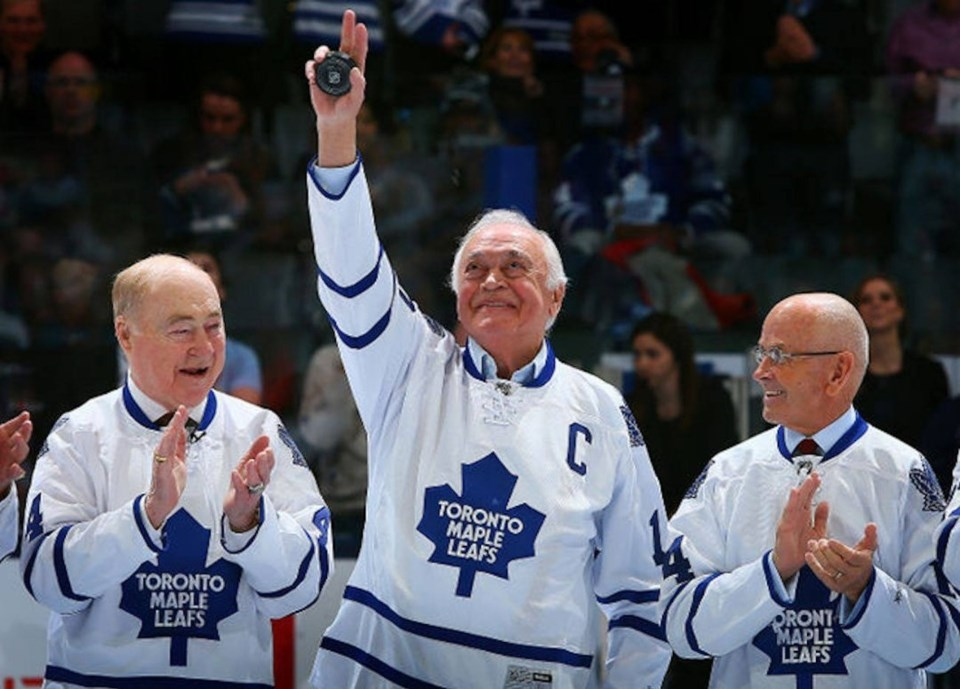 20180103 Red Kelly, George Armstrong, dave keon