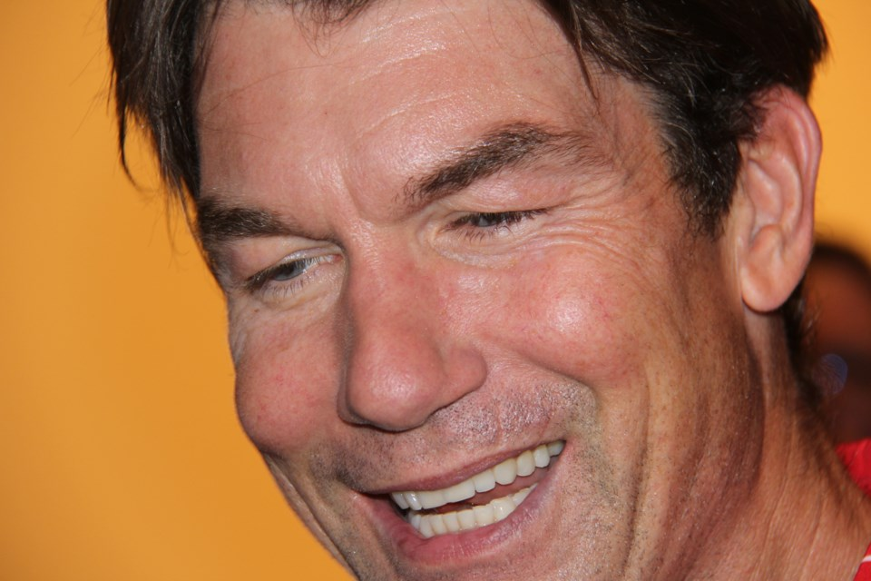 Jerry O'Connell was in North Bay Tuesday for the premiere of his TV show Carter. Jeff Turl/BayToday.