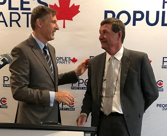 People's Party of Canada leader Maxime Bernier to make campaign stop in North Bay