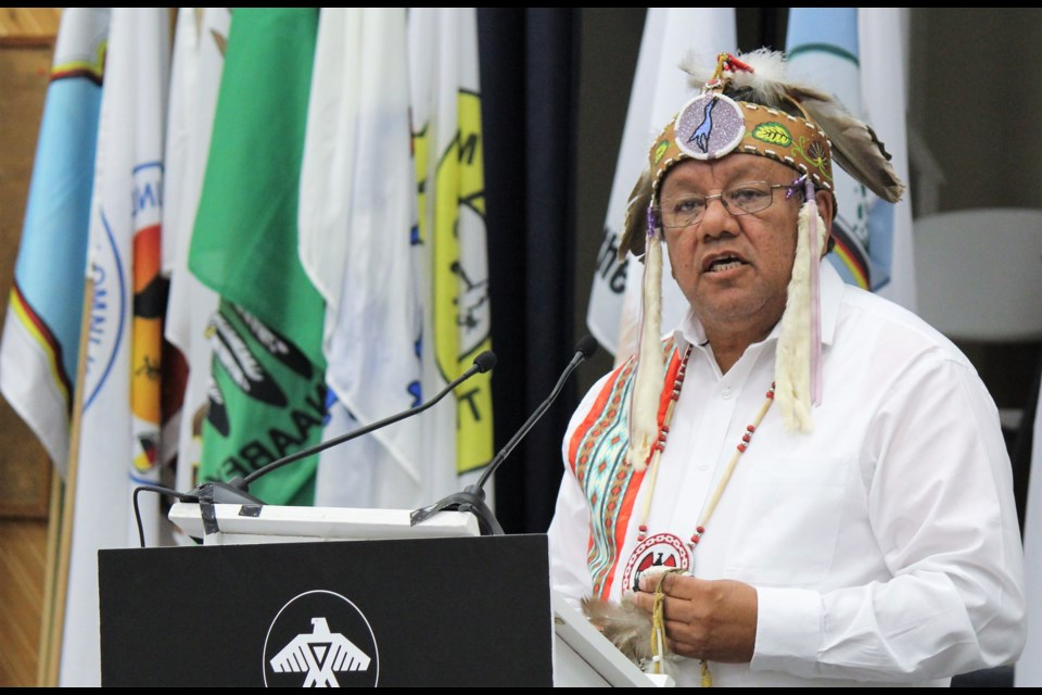 Anishinabek Nation Grand Council Chief Glen Hare - Photo by Laura Barrios