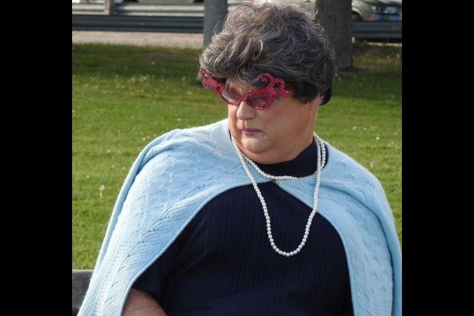 Local drag performer Geri Atrick will moderate the candidates debate.