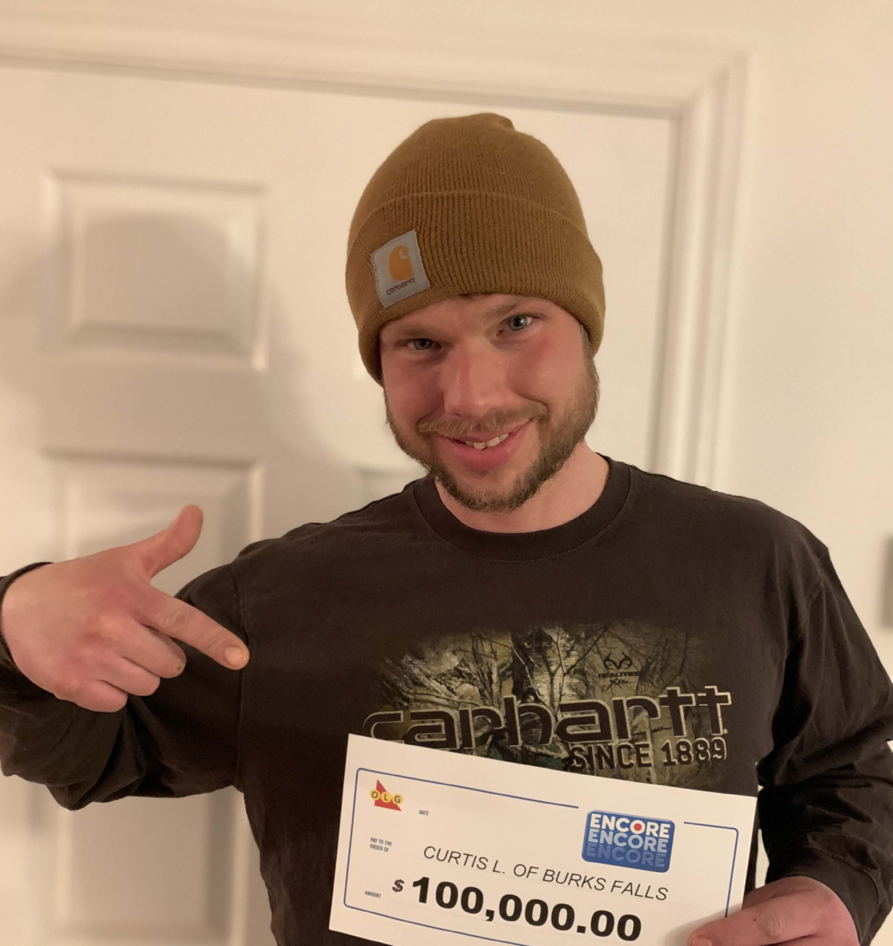 Burk S Falls Man Will Buy A Big Boat With His Winnings North Bay News