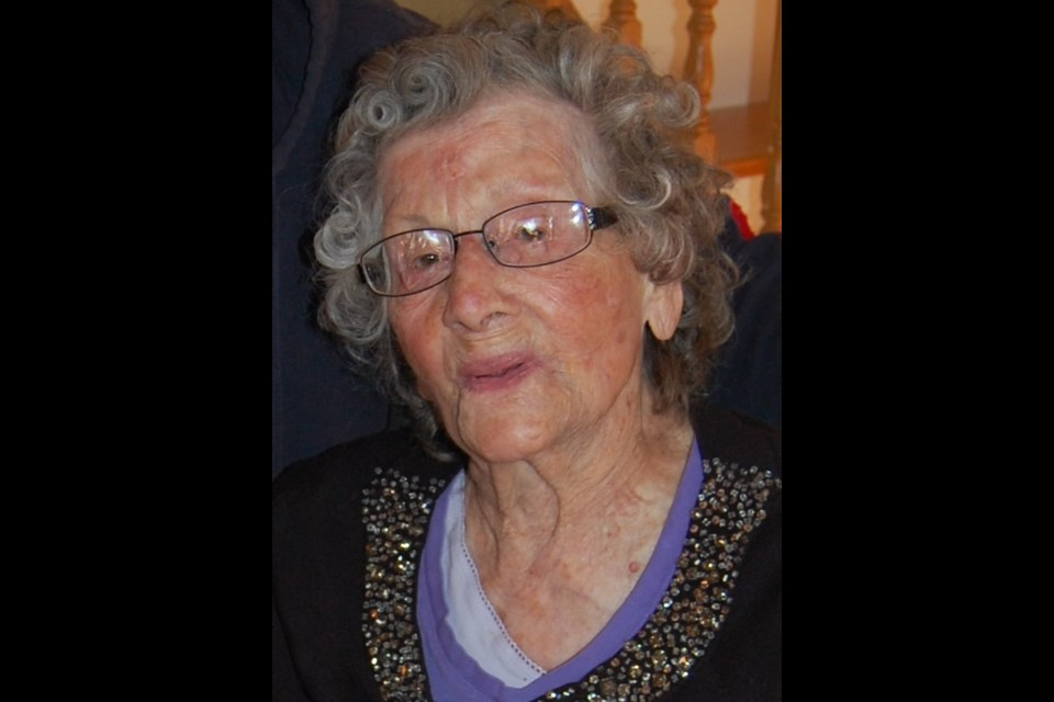 Ellen Dolly Gibb is Canada's oldest person at 112. Supplied photo.