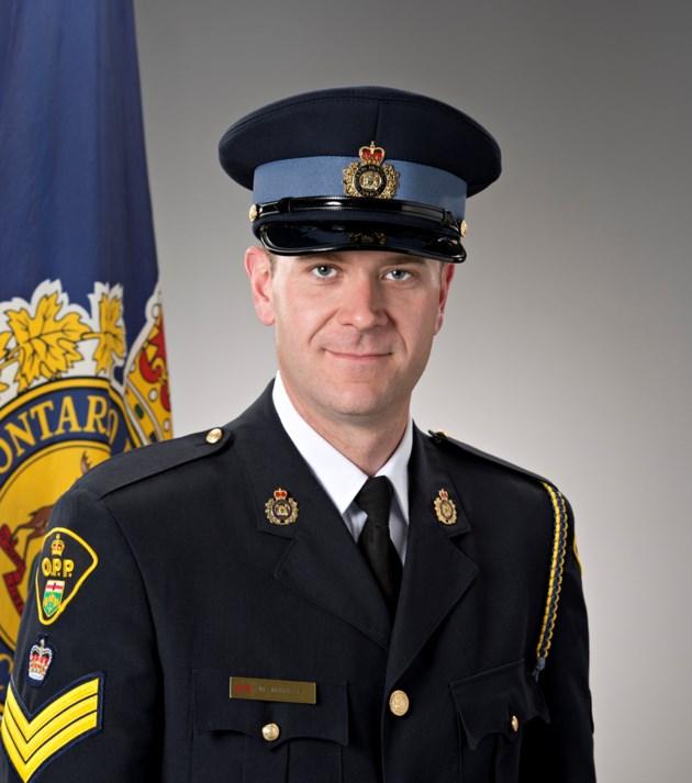 Inspector Michael Maville, Detachment Commander, Nipissing West OPP Detachment